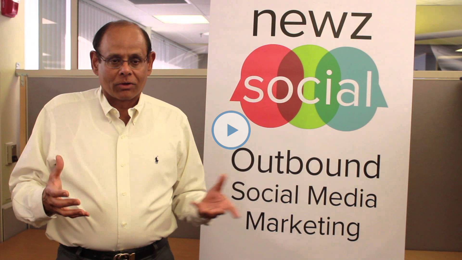 "Founder of NewzSocial tells entrepreneurs to ""stay"""