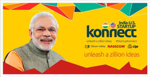 Social media marketing of PM Modi's visit to CA
